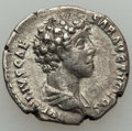 Ancients:Ancient Lots , Ancients: ANCIENT LOTS. Roman Imperial. Marcus Aurelius (AD139-161). Lot of two (2) AR denarii. About VF-VF.... (Total: 2coins)