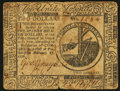Colonial Notes:Continental Congress Issues, Continental Currency February 17, 1776 $2 Fine-Very Fine.. ...