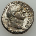 Ancients:Ancient Lots , Ancients: ANCIENT LOTS. Roman Provincial and Empire. Lot of two (2)Vespasian (AD 69-79) AR issues. About Fine-Choice VF....(Total: 2 coins)
