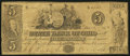 Obsoletes By State:Ohio, Mount Vernon, OH - The State Bank of Ohio, Knox County Branch $5Jan. 1, 1849 Wolka 1754-21. ...