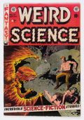 Golden Age (1938-1955):Science Fiction, Weird Science #21 (EC, 1953) Condition: VG-....
