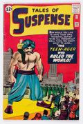 Silver Age (1956-1969):Science Fiction, Tales of Suspense #38 (Marvel, 1963) Condition: VG/FN....