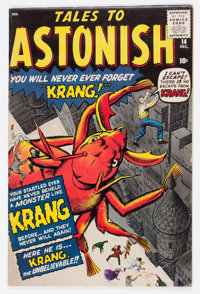Tales to Astonish #14 (Marvel, 1960) Condition: VG