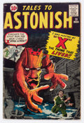 Silver Age (1956-1969):Horror, Tales to Astonish #20 (Marvel, 1961) Condition: VG....