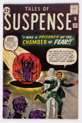 Silver Age (1956-1969):Adventure, Tales of Suspense #33 (Marvel, 1962) Condition: VG/FN....
