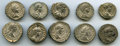 Ancients:Ancient Lots  , Ancients: ANCIENT LOTS. Roman Imperial. Severan Era (AD 198-217).Lot of ten (10) AR denarii. Fine-VF.... (Total: 10 coins)