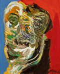 Post-War & Contemporary, Karel Appel (1921-2006). Cyclops. Oil on canvas. 39-1/2 x 32inches (100.3 x 81.3 cm). Signed lower right: Appel. Si...