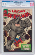 Silver Age (1956-1969):Superhero, The Amazing Spider-Man #41 (Marvel, 1966) CGC VG+ 4.5 Off-white to white pages....