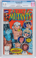 Modern Age (1980-Present):Superhero, The New Mutants #87 (Marvel, 1990) CGC VF/NM 9.0 White pages....