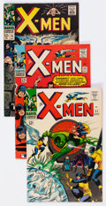 Silver Age (1956-1969):Superhero, X-Men Group of 13 (Marvel, 1966-74) Condition: Average VF.... (Total: 13 Comic Books)