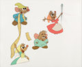 Animation Art:Color Model, Cinderella Mice Production Cel (Walt Disney, 1950). ...