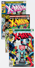 Bronze Age (1970-1979):Superhero, X-Men Group of 33 (Marvel, 1976-87) Condition: Average VF.... (Total: 33 Comic Books)