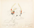 Animation Art:Color Model, Home Defense Donald Duck Color Model Animation Drawing (Walt Disney, 1942). ...