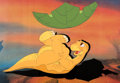 Animation Art:Production Cel, The Land Before Time Little Foot Production Cel Setup(Amblin, 1988). ...