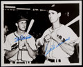 Autographs:Photos, Stan Musial and Ted Williams Multi-Signed Photograph. ...