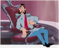 Animation Art:Production Cel, Cinderella Grand Duke Production Cel (Walt Disney, 1950)....