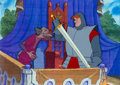 Animation Art:Production Cel, The Sword in the Stone Sir Kay and Sir Pellinore ProductionCel Set (Walt Disney, 1963). ...