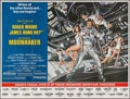 "Movie Posters:James Bond, Moonraker (United Artists, 1979). Subway (45"" X 59.5""). JamesBond.. ..."