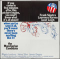 """Movie Posters:Thriller, The Manchurian Candidate (United Artists, 1962). Six Sheet (79"""" X 80.25""""). Thriller.. ..."""
