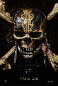 """Pirates of the Caribbean: Dead Men Tell No Tales (Walt Disney Pictures, 2017). One Sheet (27"""" X 40"""") DS Advanc..."""