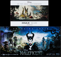 """Maleficent & Others Lot (Walt Disney Pictures, 2014). Posters (12) (11.5"""" X 17"""" - 15"""" X 30"""") SS..."""