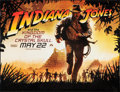 "Movie Posters:Adventure, Indiana Jones and the Kingdom of the Crystal Skull (Paramount, 2008). Vinyl Poster (45.5"" X 60""). Advance SS. Adventure.. ..."