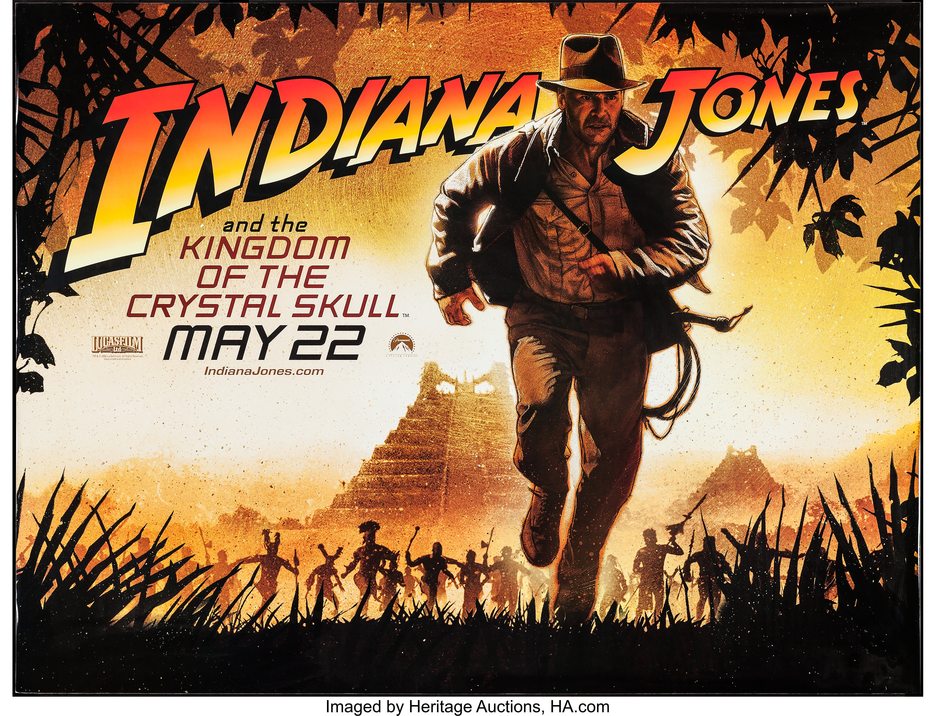 Indiana Jones And The Kingdom Of The Crystal Skull Paramount Lot 51215 Heritage Auctions