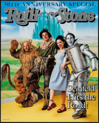 """Rolling Stone Magazine: Seinfeld (Rolling Stone, 1998). 30th Anniversary Poster (18.25"""" X 22.75""""). Rock and Ro..."""