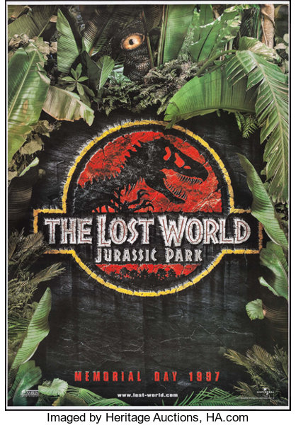 Jurassic Park II: The Lost World (Universal, 1997)  Bus