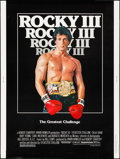 "Movie Posters:Sports, Rocky III (United Artists, 1982). Poster (30"" X 40""). Sports.. ..."