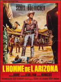 """Movie Posters:Western, The Tall T & Other Lot (Etoile, R-Late 1960s). French Grandes (2) (45.5"""" X 62"""" & 47"""" X 63""""). Western.. ... (Total: 2 Items)"""