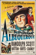 "Movie Posters:Western, Albuquerque (Paramount, 1948). One Sheet (27"" X 40.75""). Western.. ..."