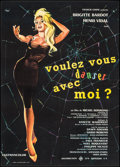 """Movie Posters:Foreign, Come Dance with Me! (UFA, 1959). French Moyenne (22.5"""" X 31.5""""). Foreign.. ..."""