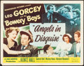 """Movie Posters:Comedy, Angels in Disguise (Monogram, 1949). Half Sheet (22"""" X 28""""). Comedy.. ..."""