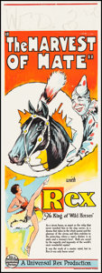 "Movie Posters:Western, The Harvest of Hate (Universal, 1929). Pre-War Australian Daybill (15"" X 40""). Western.. ..."