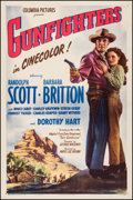 "Movie Posters:Western, Gunfighters (Columbia, 1947). One Sheet (27"" X 41""). Western.. ..."