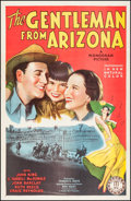 "Movie Posters:Western, The Gentleman from Arizona (Monogram, 1939). One Sheet (27"" X 41"").Western.. ..."