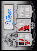 Football Cards:Singles (1970-Now), 2010 Topps Triple Demaryius Thomas Printing Plate Patch Autograph#TTAR-79 - Numbered 1 of 1. ...