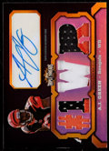 Football Cards:Singles (1970-Now), 2011 Topps Triple Threads AJ Green Autograph Patch Relic #TTAR-12 -Numbered 1 of 1. ...
