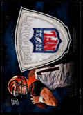 Football Cards:Singles (1970-Now), 2011 Topps Inception Andy Dalton Rookie Logo Shield Patch #ELP-AD -Numbered 1 of 1. ...