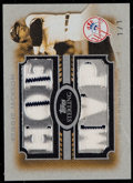 Baseball Cards:Singles (1970-Now), 2008 Topps Sterling Reggie Jackson Pinstripe Relic #6SS-33 -Numbered 1 of 1. ...