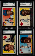 Baseball Cards:Lots, 1955 Topps Baseball Collection (99) With Koufax and 24 HighNumbers!....