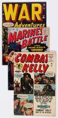 Golden Age (1938-1955):War, Atlas Golden and Silver Age War Comics Group of 10 (Atlas, 1952-57)Condition: Average GD/VG.... (Total: 10 Comic Books)