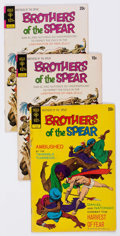 Bronze Age (1970-1979):Miscellaneous, Brothers of the Spear Group of 27 (Gold Key, 1972-76) Condition:Average VG.... (Total: 27 Comic Books)