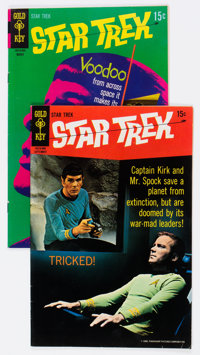 Star Trek #5 and 7 Group (Gold Key, 1969-70) Condition: Average VF.... (Total: 2 Items)