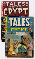 Golden Age (1938-1955):Horror, Tales From the Crypt #20 and 41 Group (EC, 1950-54).... (Total: 2 Items)