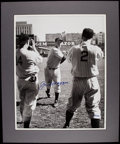 Autographs:Photos, Joe DiMaggio Signed Oversized Photograph - Limited Edition to 100....