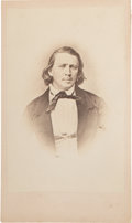 Photography:CDVs, Brigham Young: Early CDV Portrait of Mormon Leader by Anthony....
