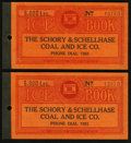 Obsoletes By State:Ohio, Canton, OH- Schory & Schellhase Coal and Ice Co. 5000 Lbs. 193_Two Examples.. ... (Total: 2 items)