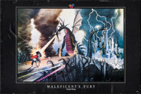 """Sleeping Beauty: Maleficent's Fury by Charles Wissig (Walt Disney Attractions, 1998). Commercial Poster (24"""" X 35.7..."""